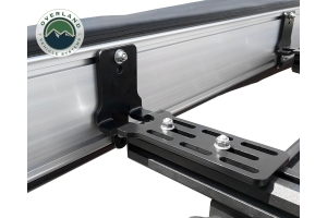 Overland Vehicle Systems Nomadic 270-Degree Awning, Dark Gray w/Black Transit Cover, Driver Side