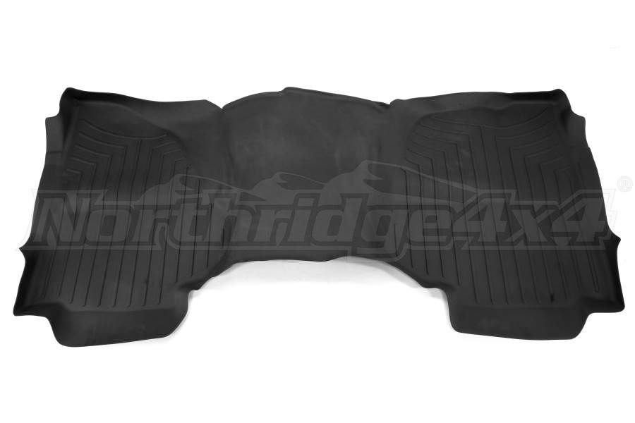 WeatherTech Rear Floor Liner Black - 2014-2016 Chevy Silverado 1500/2500HD/3500HD (Part Number:445423)
