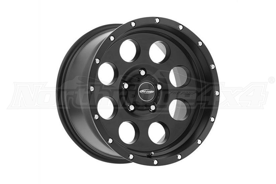 Pro Comp Proxy Series 45 Satin Black 17x9 5x5  (Part Number:5045-7973)
