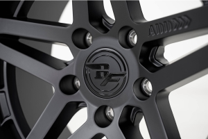 Addictive Desert Design Rock Fighter Beadlock Matte Black Wheel, 17x9 5x5 - JT/JL/JK