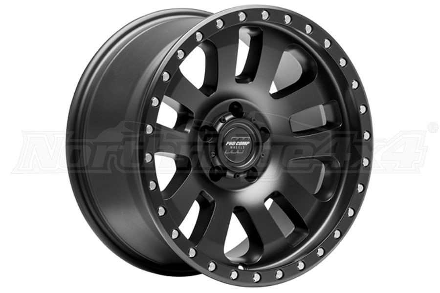 Pro Comp 46 Series Prodigy Wheel Satin Black 18x9 5x5 (Part Number:7046-8973)