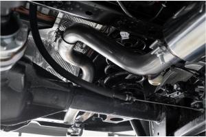 MBRP 2.5in Cat-Back Single Rear Exit Exhaust System - Aluminum - JL