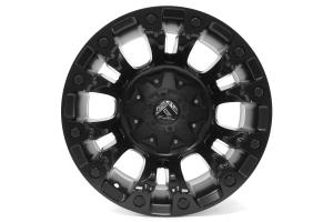 MHT Fuel Vapor Wheel Matte Black 17x9 5x5 - JK/JL
