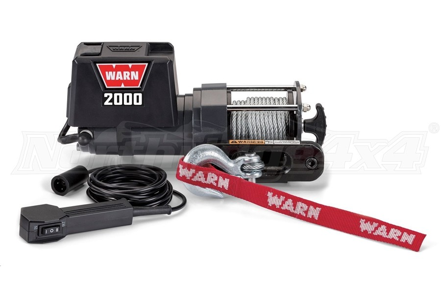 Warn 2000DC 12V Electric Winch (Part Number:92000)