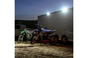 Rigid Industries SR-L Series Off-Road Spreader Lights, White Halo - Pair