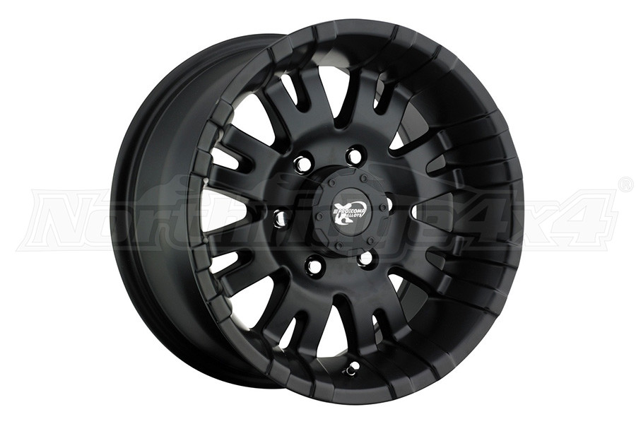 Pro Comp Xtreme Alloys Series 5001 Black Wheels 17x9 5x5 (Part Number:5001-7973)