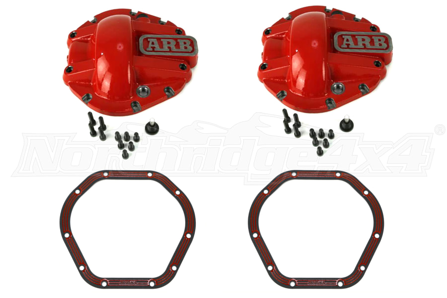 ARB Dana 44 Differential Covers & LubeLocker Package (Part Number:LL-RUB-KIT)