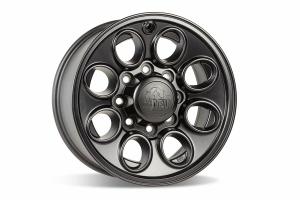 AEV Katla Wheel, Onyx - 17x10, 8x6.5 - 03+ Ram 2500/3500