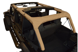 Dirty Dog 4x4 Roll Bar Covers Sand (Part Number: )