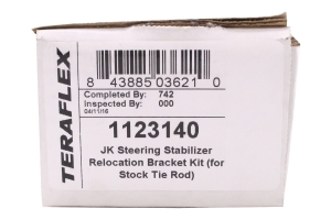 Teraflex Steering Stabilizer Relocation Kit - JK