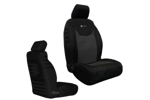 Bartact Supreme Front Seat Covers Black/Graphite (Part Number: )