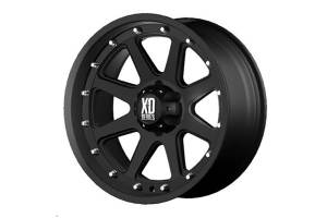 XD Series Addict Non-Beadlock Wheel Matte Black, 17x9 5x5   (Part Number: )