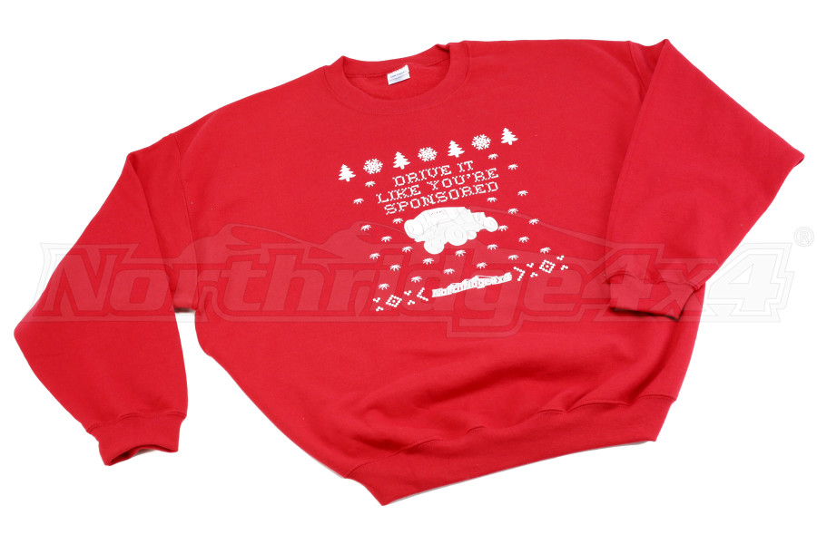 Northridge4x4 Ugly Red Christmas Sweater