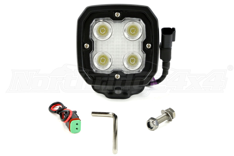 Vision X Lighting Duralux High Output LED Work light Black (Part Number:DURA-440)