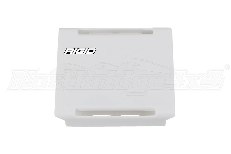 Rigid Industries E-Series 4IN Light Cover, White (Part Number:104963)