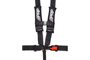 PRP 5 Point Harness Black 3in