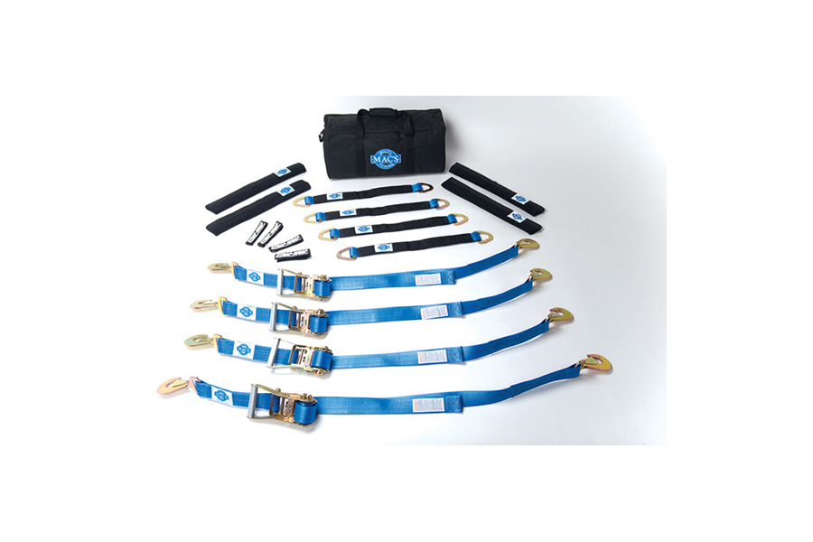 Mac's Pro Pack W/24in Axle Straps 6ft (Part Number:511606)