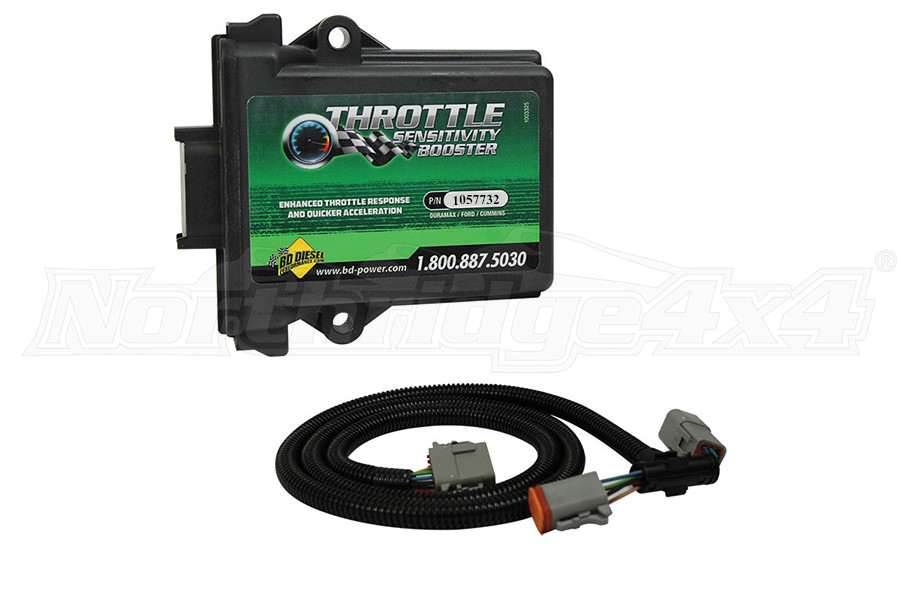 BD Diesel Throttle Sensitivity Booster - Dodge - Ford - Jeep (Part Number:1057732)