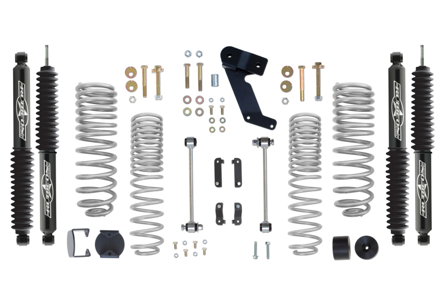 Rubicon Express Progressive Coil 2.5in Standard Lift Kit w/Twin Tube Shocks - JK 4DR