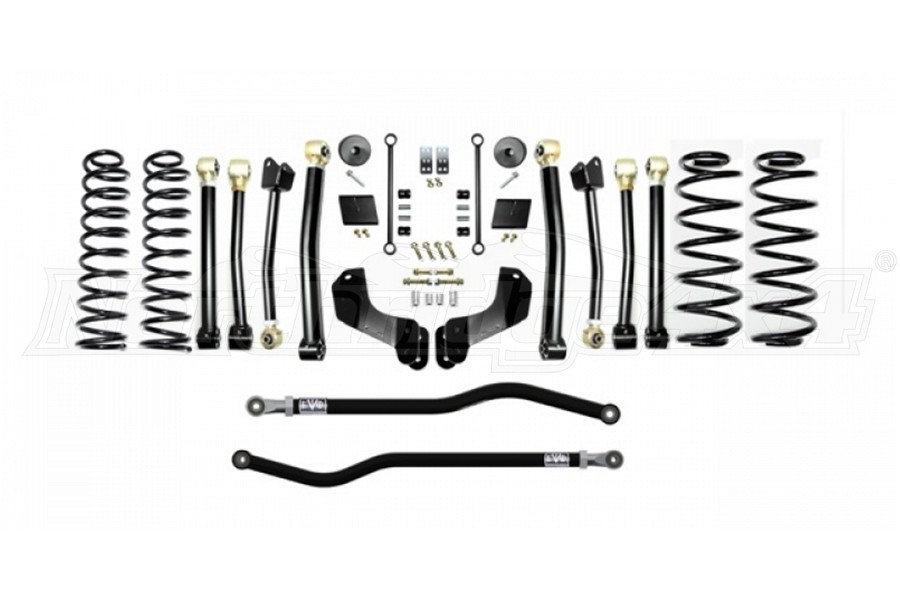 EVO Manufacturing 2.5in Enforcer Overland Lift Kit, Stage 4 - PLUS (Part Number:3012S4P)