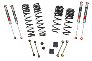 SkyJacker Suspension 2in/2.5in Dual Rate Long Travel Lift Kit with M95 Shocks, Rubicon - JL 4Dr