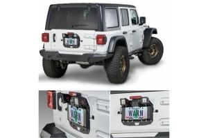 Warn Spare Tire Delete Plate - JL