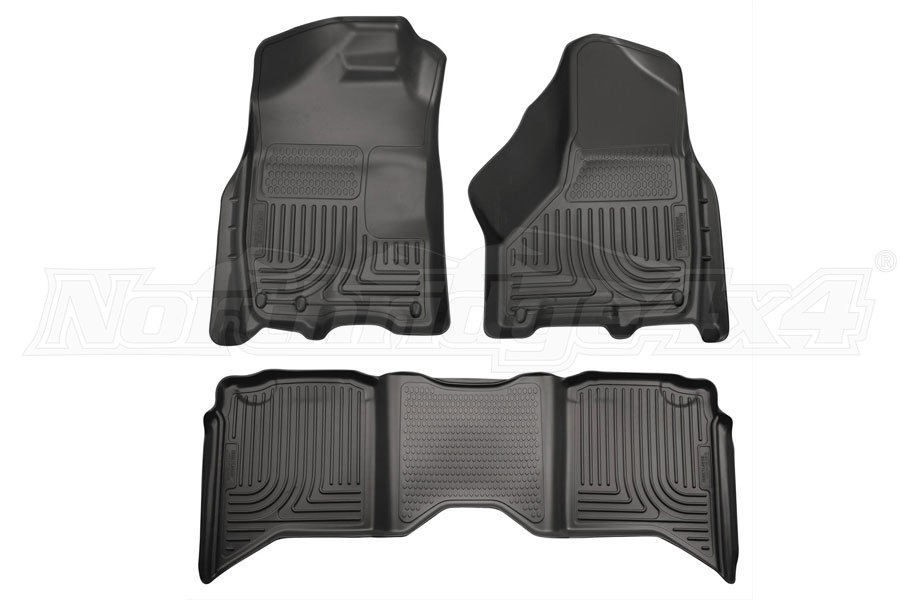 Husky Liners WeatherBeater Front and Second Seat Floor Liners (Part Number:99001)