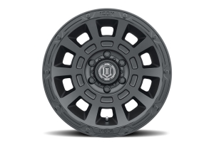 Icon Vehicle Dynamics Thrust Satin Black Wheel - 17x8.5 5x5  - JT/JL/JK