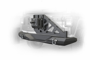 DV8 Offroad Rear Bumper & Swing Away Tire Carrier - JL