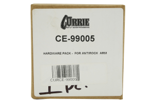 Currie Enterprises Anti Rock Hardware Pack (Part Number: )