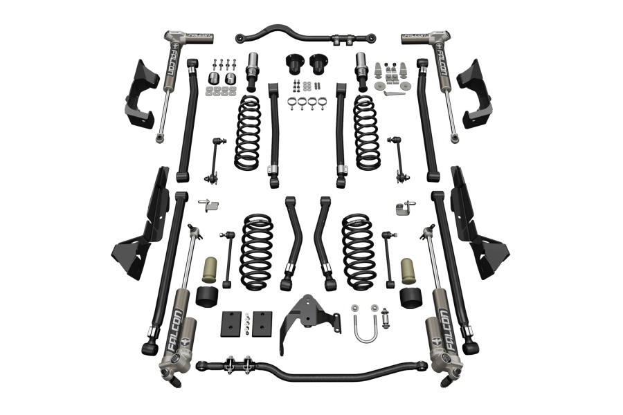 Teraflex 4in Alpine CT4 Suspension System w/ 3.1 Falcon Shocks (Part Number:1224031)