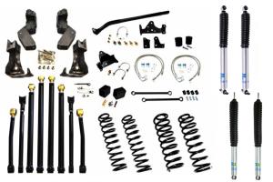 EVO Manufacturing Double D Long Arm Kit - JK ( Part Number: 1084-35-1084-37)