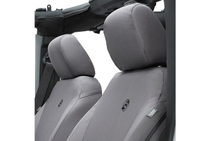 Bestop Front Seat Covers Charcoal (Part Number: )