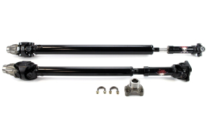 Adams Driveshaft Extreme Duty Series Front and Rear Spicer Solid 1310 CV Driveshafts ( Part Number: JK-1310FR-4DSSPKG)