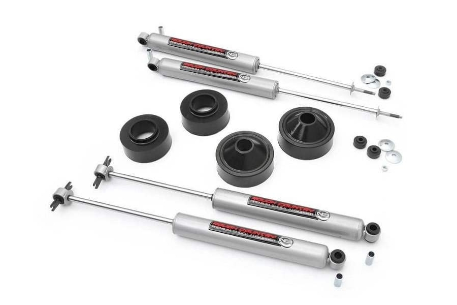 Rough Country Suspension 1.75in Lift Kit W/ Shocks (Part Number:65130)