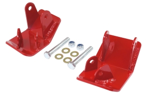 Rancho Performance Shock and Control Arm Skid Plates, Rear - JK