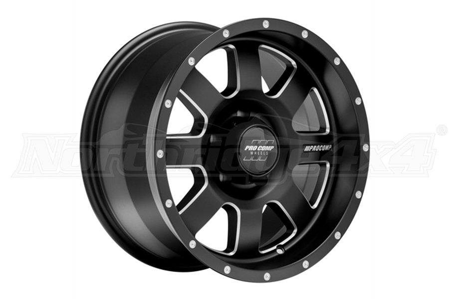 Pro Comp 73 Series Trilogy Satin Black Wheel 20x10 5x5 (Part Number:5173-21073)