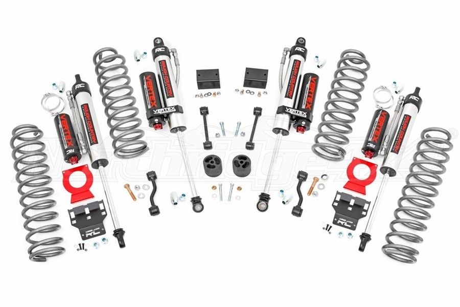 Rough Country 2.5in Lift Kit w/Vertex Shocks - JL 4dr Non-Rubicon