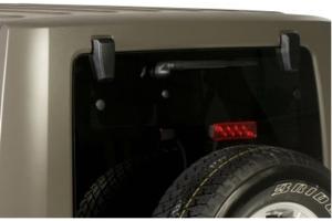 Kentrol Liftgate Replacement Cover Set - Textured Black  - JK