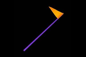 Quake LED 4ft RGB Accent LED Whip Light - Single