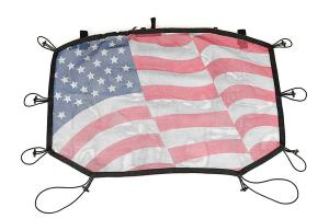 Rugged Ridge Hardtop Sun Shade, Flag - JK