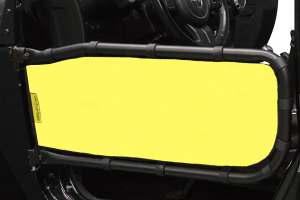 Dirty Dog 4x4 Olympic Front Tube Door Screen, Yellow - JK 2DR