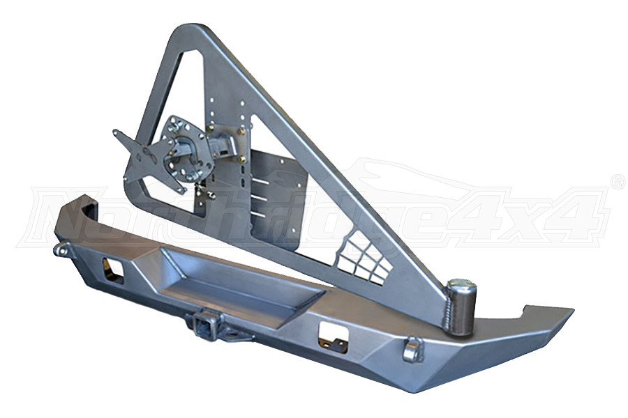 Poison Spyder Full Width Rear W/Tire Carrier, Lights, and Tabs (Part Number:17-62-050-DL)