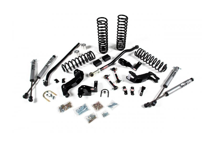 JKS JSPEC 3 1/2in J Kontrol Suspension System Lift Kit - JK4DR ( Part Number: 108K)