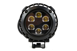 KC HiLites Round LZR LED Light Pack System Black 4in (Part Number: )
