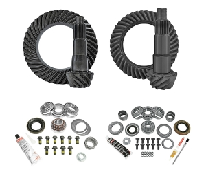 Yukon Complete D35 Rear / D30 Front Ring and Pinion Kit - 4.88  - JL Non-Rubicon