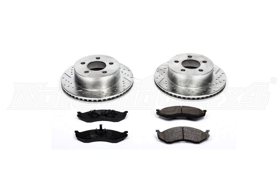 Power Stop Z23 Evolution Sport Brake Kit, Front  (Part Number:K2152)
