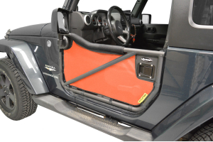 Dirty Dog 4x4 Rancho Tube Door Screens Orange (Part Number: )
