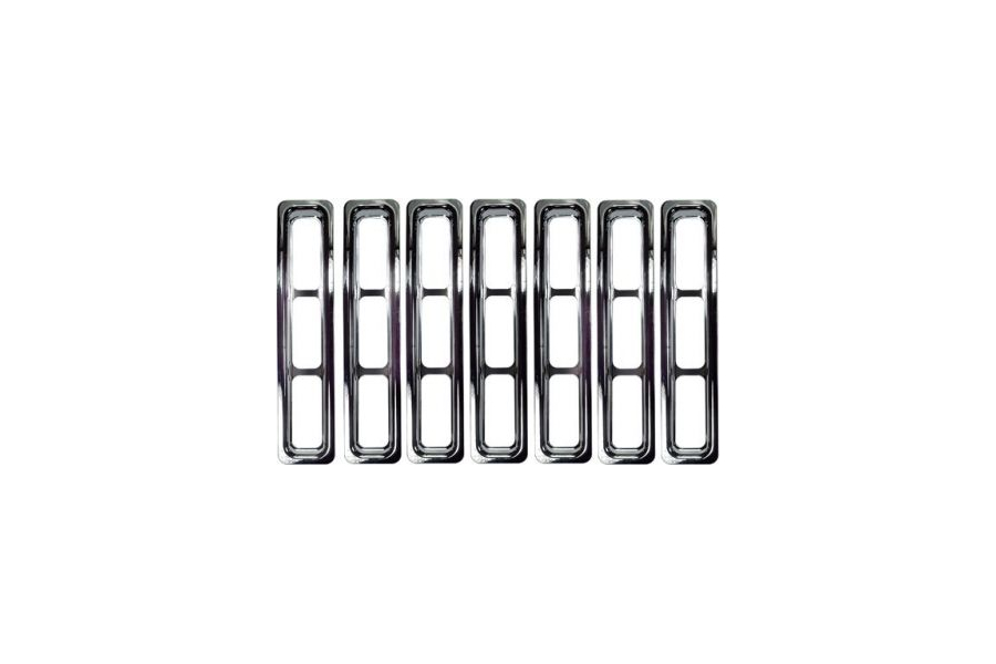 Rugged Ridge Grille Inserts Chrome (Part Number:11306.02)