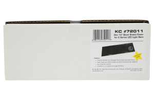 KC HiLiTES Acrylic Light Shield/Cover